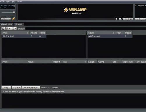 Configurar Winamp para emitir en Icecast