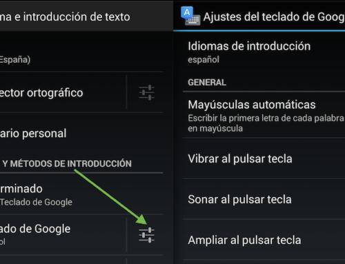 Desactivar autocompletado en Android